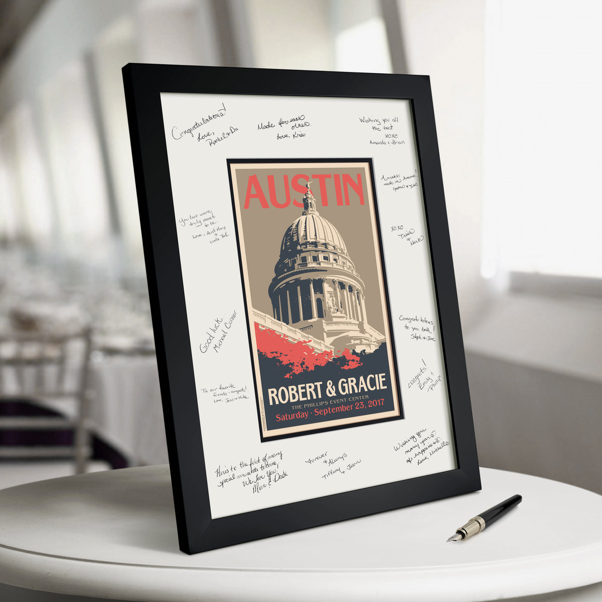 Capitol Building Guest Book