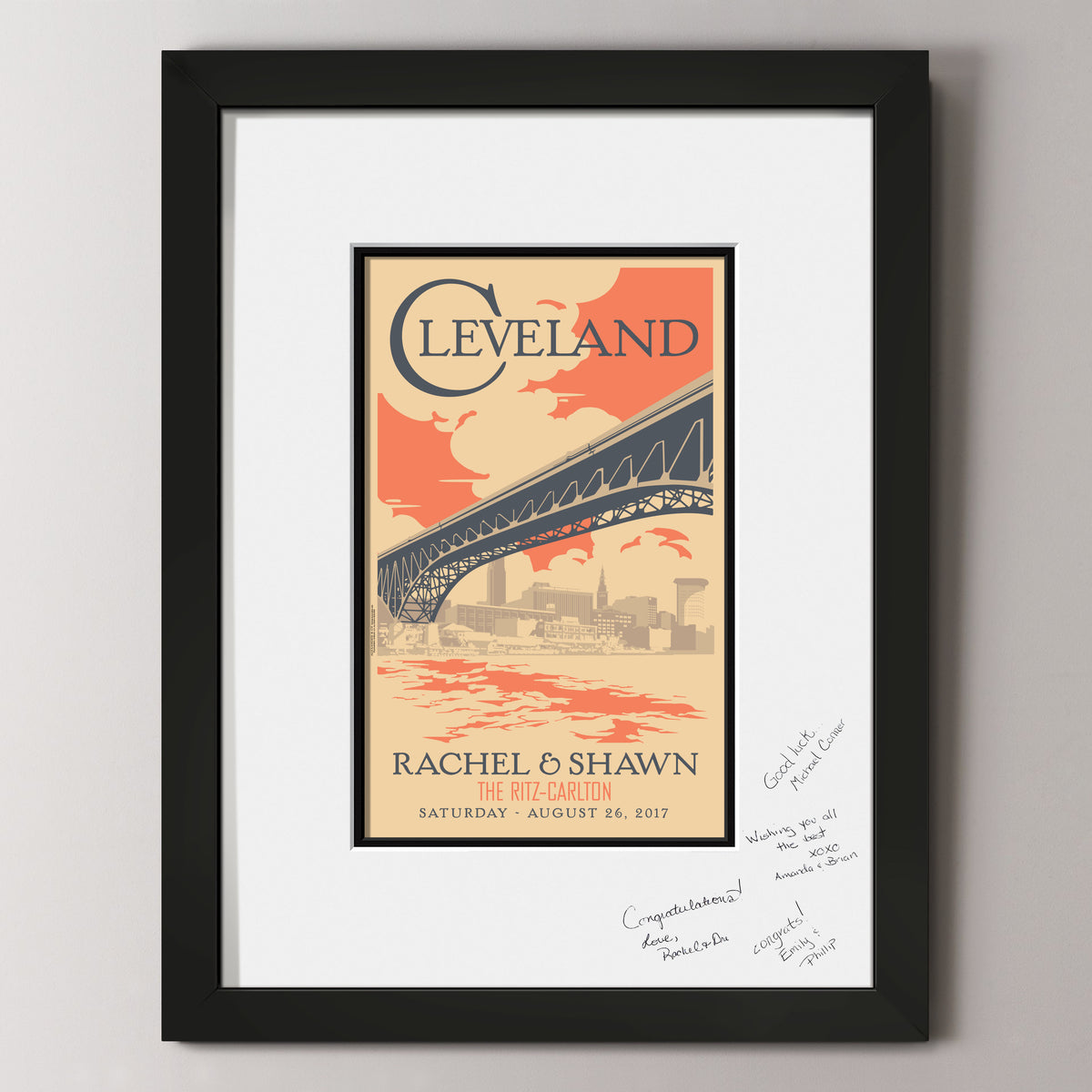Cleveland Skyline Guest Book
