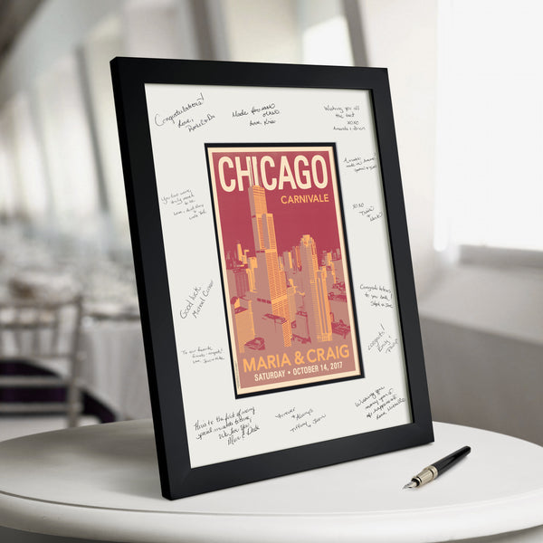 Downtown Chicago Guest Book