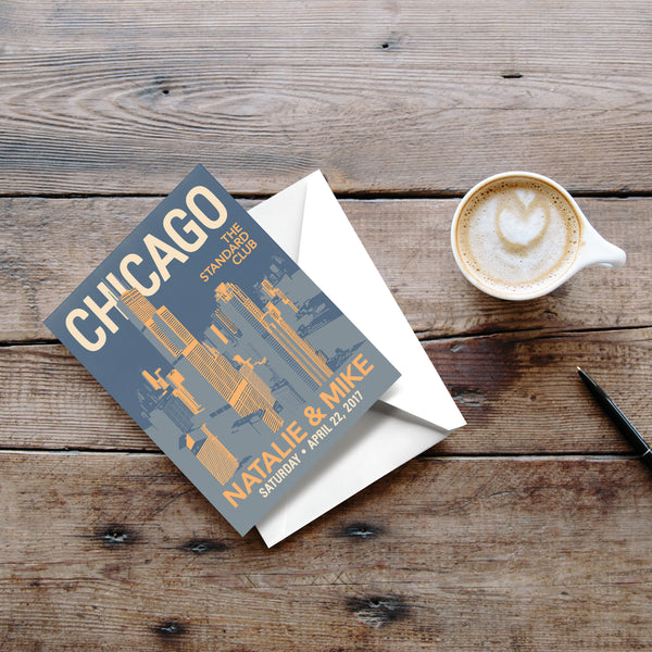 Downtown Chicago Thank You Cards