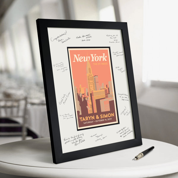 New York Downtown Guest Book