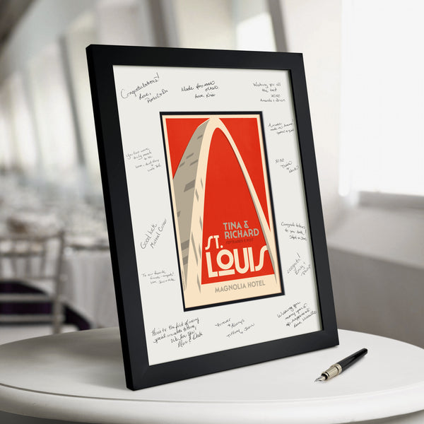 St. Louis Gateway Arch Guest Book