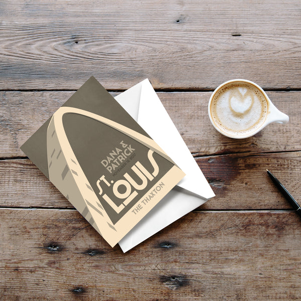 St. Louis Gateway Arch Thank You Cards
