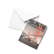 San Francisco Golden Gate Thank You Cards
