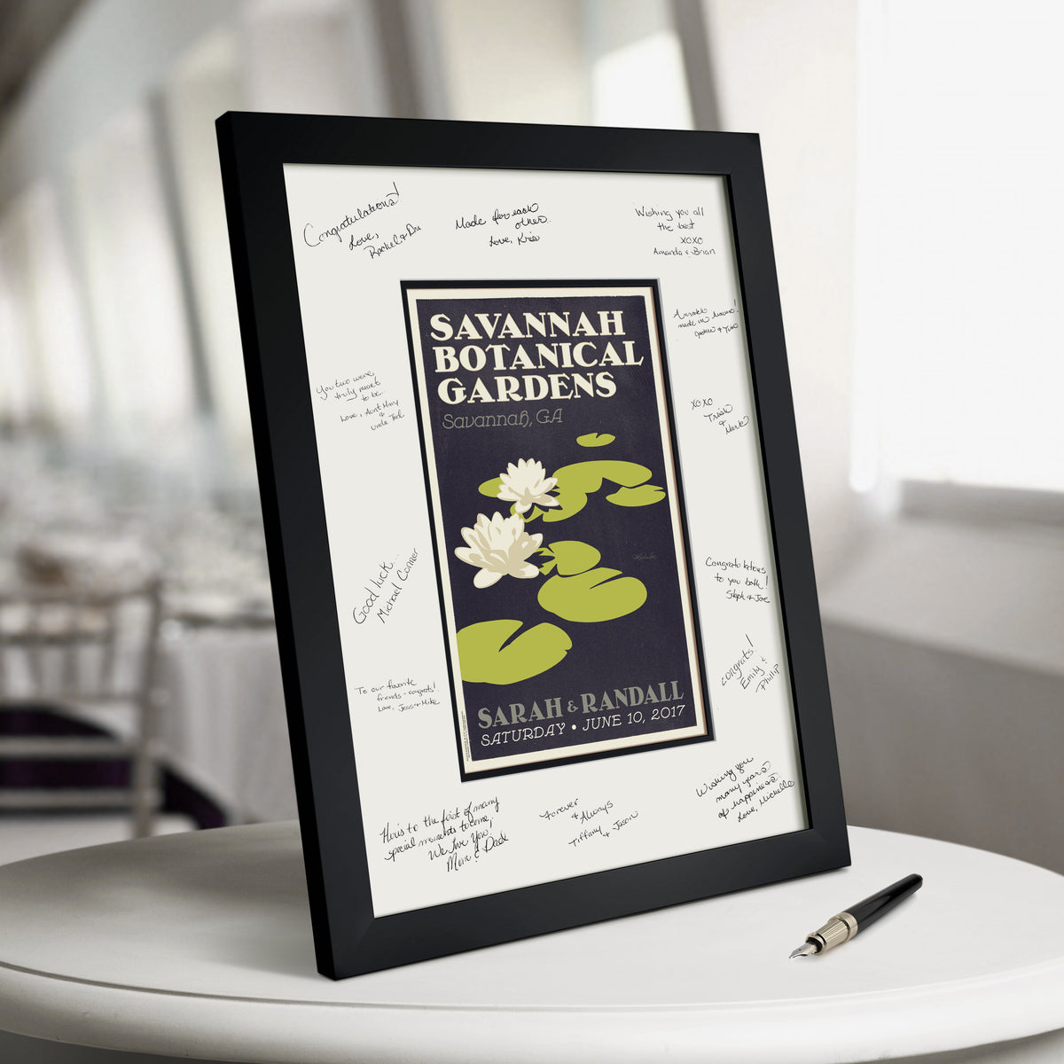 Lilly Pads Guest Book