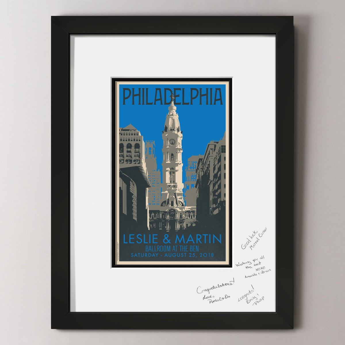 Philadelphia City Hall Guest Book