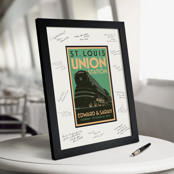 Union Station Guest Book