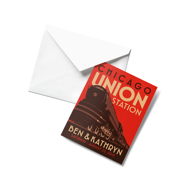 Union Station Thank You Cards