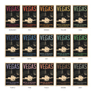 Las Vegas Fountain Thank You Cards