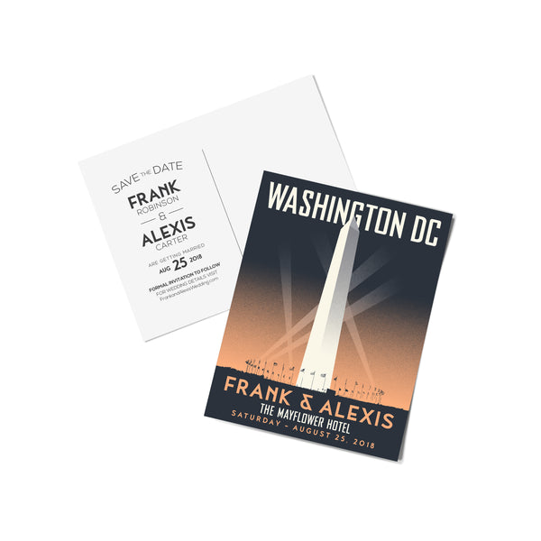 Washington Monument Save The Date