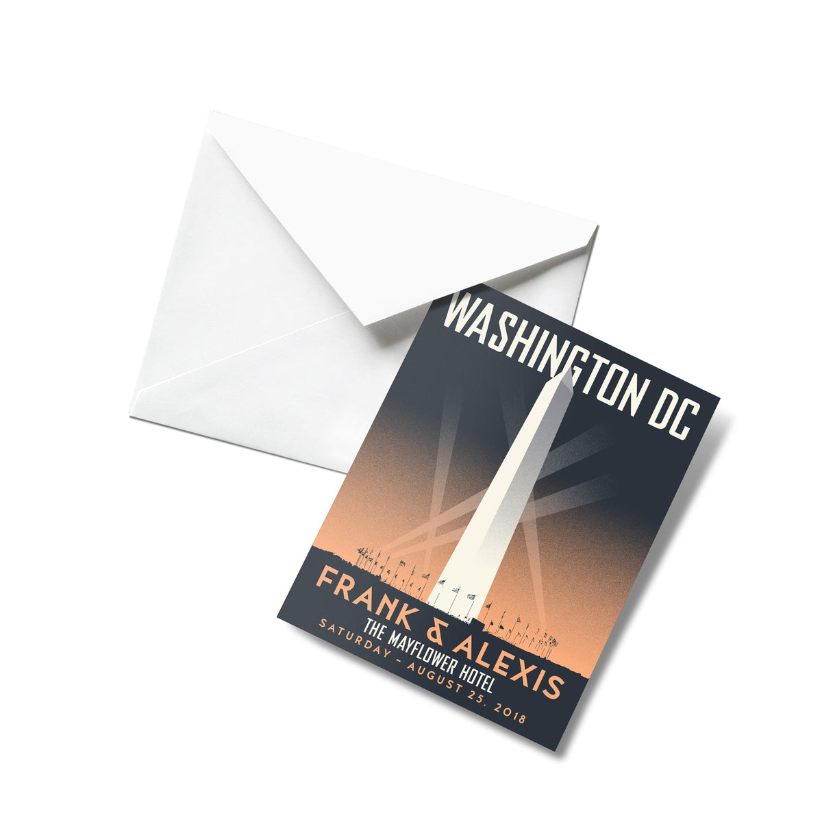 Washington Monument Thank You Cards