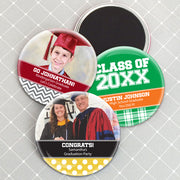 "Graduation Magnets (2.25"") - Set of 25 (FREE SHIPPING) - Something Sweet Party Favors LLC"