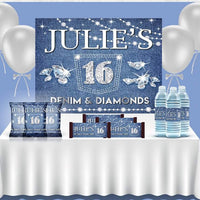 Denim & Diamonds Birthday Theme - FREE SHIPPING - Something Sweet Party Favors LLC