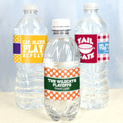 Sports Themed Water Bottle Labels - Set of 20 (FREE SHIPPING) - Something Sweet Party Favors LLC