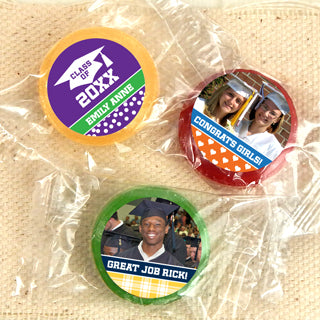 Graduation Life Savers Candy - Set of 100 (FREE SHIPPING) - Something Sweet Party Favors LLC