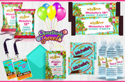 Tropical Luau Theme - FREE SHIPPING - Something Sweet Party Favors LLC
