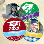 Graduation Paper Coasters - Set of 25 (FREE SHIPPING) - Something Sweet Party Favors LLC