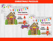 Elf on the Shelf Personalized Kids Puzzle - Something Sweet Party Favors LLC