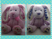 Personalized Easter Bunny Plush - Something Sweet Party Favors LLC