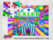Carnival Kids Puzzle With FREE Matching Bag - Something Sweet Party Favors LLC