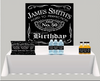 Aged To Perfection Party Backdrop - FREE SHIPPING - Something Sweet Party Favors LLC