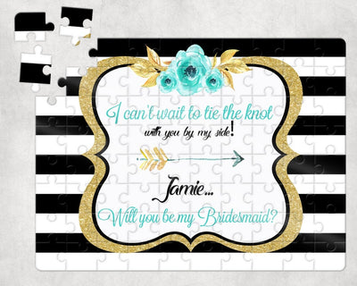 Will you be my bridesmaid?  Bridesmaid Proposal Puzzle - Something Sweet Party Favors LLC