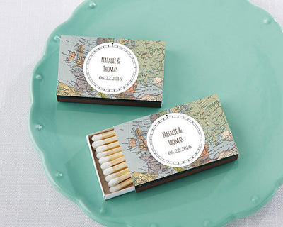 World Traveler Custom Match Favors (Set of 50) FREE SHIPPING - Something Sweet Party Favors LLC