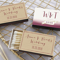 Vineyard Themed Matches (Set of 50) FREE SHIPPING - Something Sweet Party Favors LLC