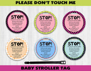 Baby Stroller Germ Tag Variety - Something Sweet Party Favors LLC