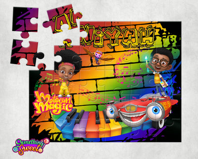 Motown Magic Kids Puzzle With FREE Matching Bag - Something Sweet Party Favors LLC