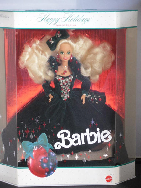 1991 Happy Holidays Barbie NIB