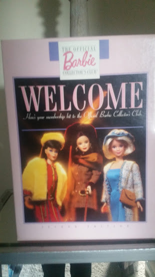 1997 Welcome to Barbie Collectors NIB