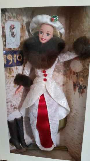 1995 Holiday Memories Barbie NIB