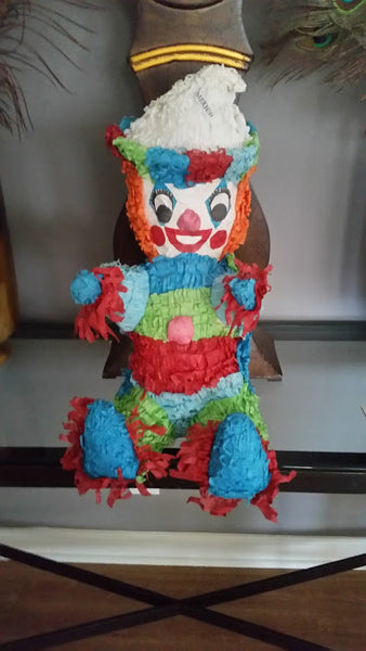 Vintage Clown  Pinata