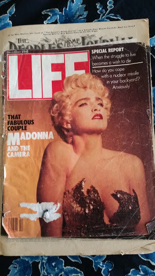 December 1986 Life Magazine with Madonna Cover