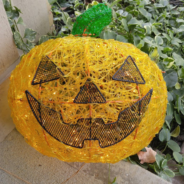 Lighted Jack O Lantern 14 x 16