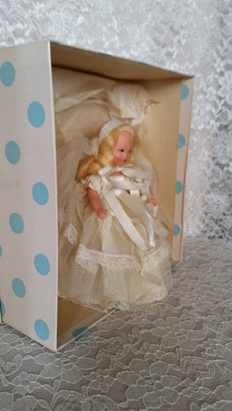 Nancy Ann Storybook Doll, 86 Bride, Family Series, w/ Box,