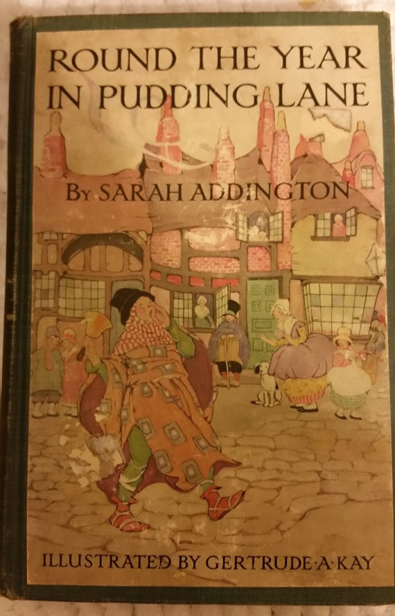 Round The Year in Pudding Lane by Sarah Addington