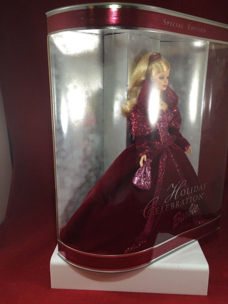 2002 Holiday Celebration Barbie NIB