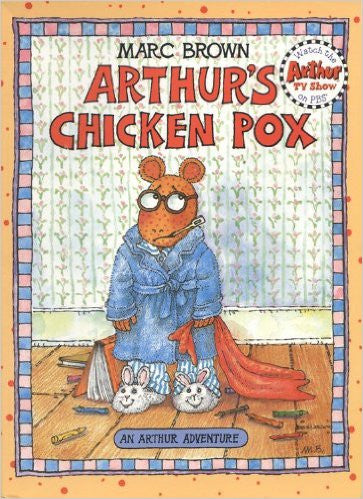 Authur's Chicken Pox First Edition 1994