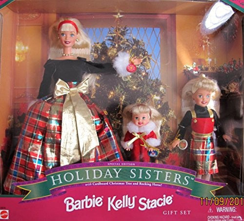 1998 Barbie Kelly and and Stacie Gift Set NIB