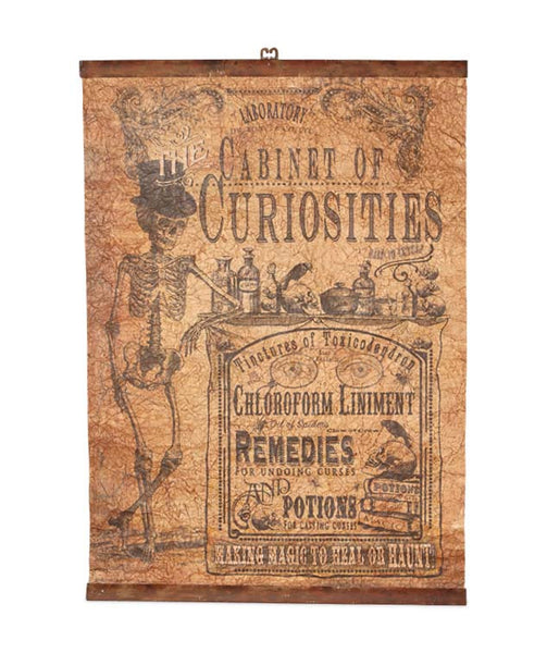 A Cabinet Of Curiosities Wallhanging