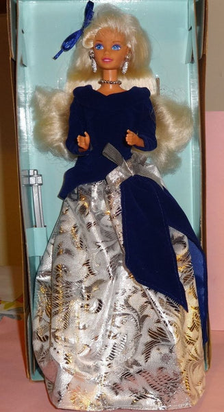 1995 Winter Velvet Barbie NIB