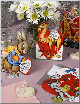 Valentines to Give to Your Friends Set of 4