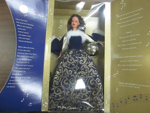2001 Ring in The New Year Barbie NIB