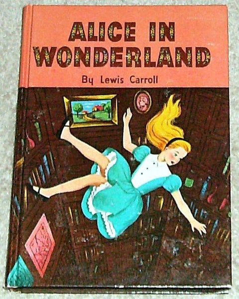 Alice in Wonderland and Through The Looking Glass 1955 Hardback