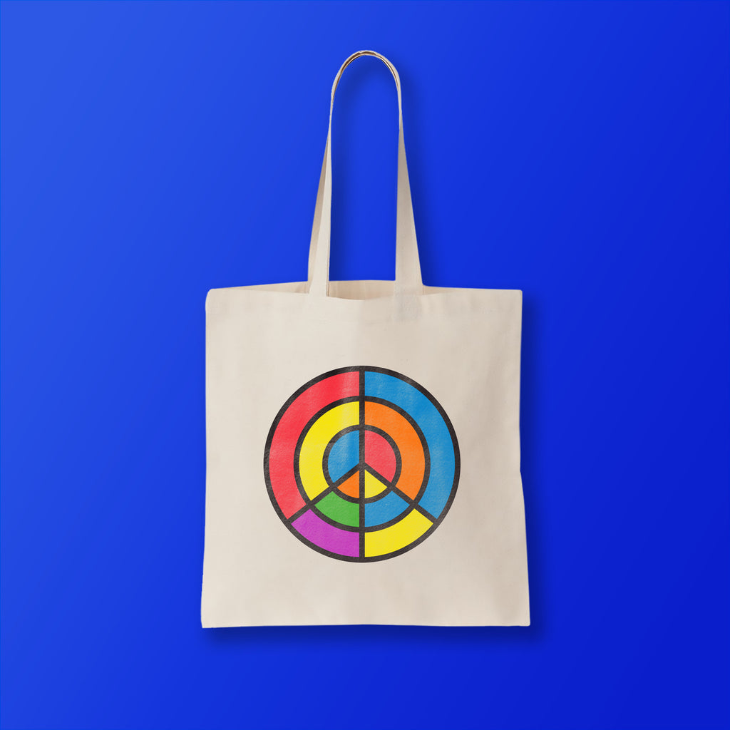 Aim for Peace Tote