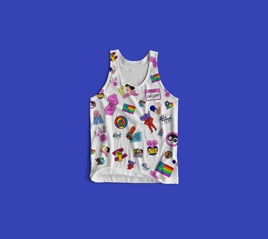 Women's All-Over Tank