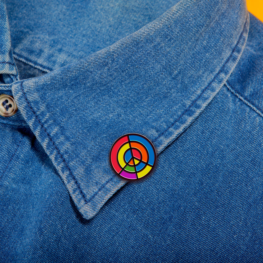 Aim for Peace Pin