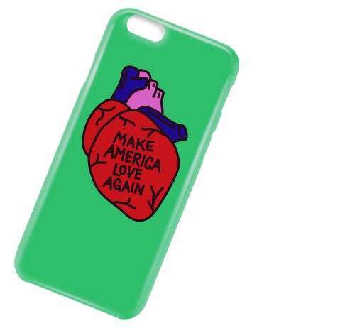 Make America Love Again iPhone Case